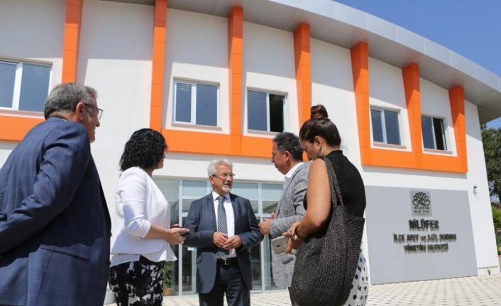 Nilüfer'de afet öncesi eğitim artacak