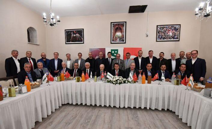 """Dündar: """"Bursa, Türkiye ekonomisine ciddi katkı sağlıyor"""""""