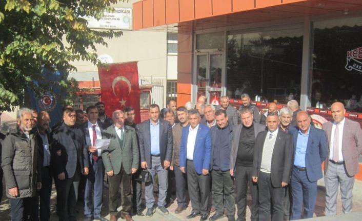 """Türk-İş İl Temsilcisi Gökçan: """"Çalışanlar her yıl daha fazla vergi ödemek zorunda kalıyor"""""""