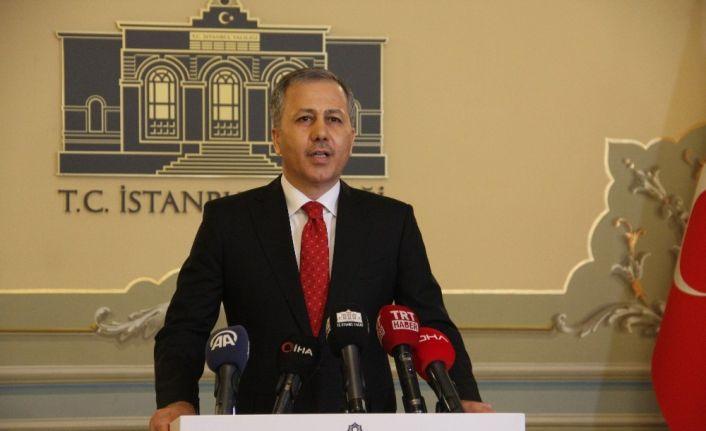 Vali Yerlikaya'dan korona virüs tedbirlerine ilişkin açıklama