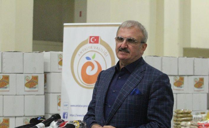 """Antalya Valisi Karaloğlu: """" Biraz gevşersek önünü alamayacağımız bir noktaya gelebiliriz, bunu istemiyoruz"""""""