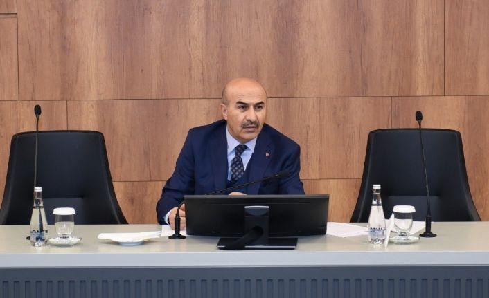 """Vali Demirtaş: """"Tarımsal üretimi sekteye uğratmayacağız"""""""