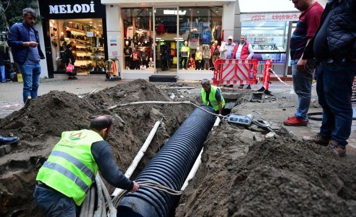 Altınordu'da alt ve üst yapı çalışmaları yenileniyor