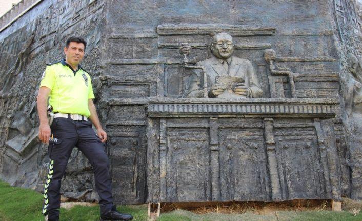Demokrasi Şehidi Merhum Başbakan Menderes için şarkı besteledi