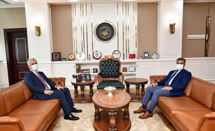 Kastamonu Valisi Çakır, Vali Gürel ile görüştü
