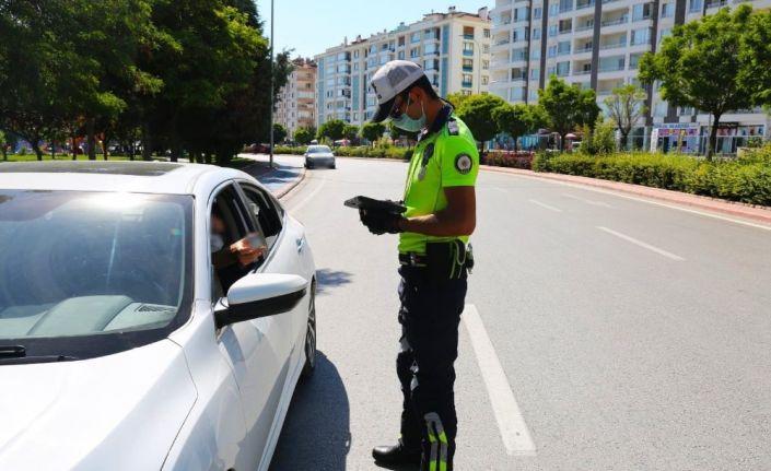 Konya'da trafik denetimleri