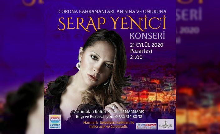 Marmaris'te sağlık kahramanları için konser düzenlenecek