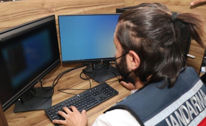 Jandarma terör propagandası yapılan ve yasadışı bahis oynatılan siteleri erişime kapattı