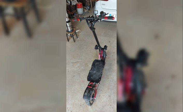 Nazilli'de scooter hırsızı yakalandı