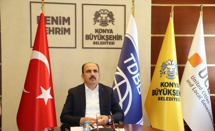 """TDBB Başkanı Altay: """"Çocuk katili Ermenistan'ı lanetliyoruz"""""""