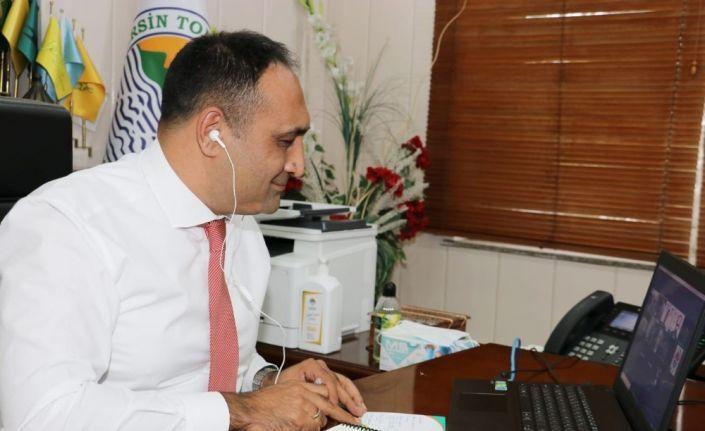 Başkan Yılmaz, yerli ve yabancı yatırımcıları Mersin'e davet etti