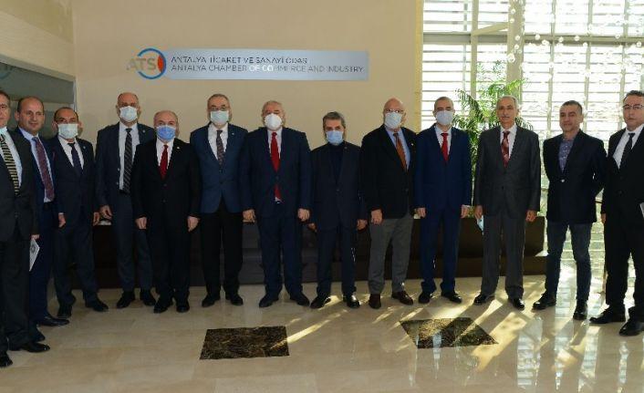 """ATSO Başkanı Çetin: """" Destekler seçici ve sektörel bazda olmalı"""""""