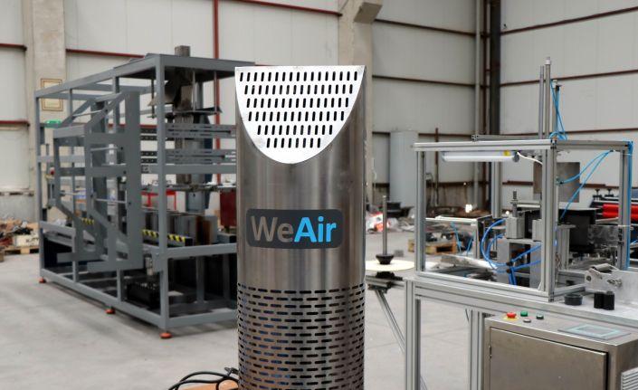 Bu hava sterilizasyon cihazı virüsleri yüzde 99,9 öldürüyor