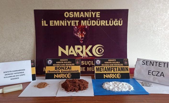 Osmaniye'de narkotik operasyonlarına 30 tutuklama