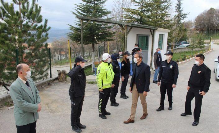 Polis Haftası dolayısıyla İlçe Emniyet Müdürlüğü ziyaret edildi