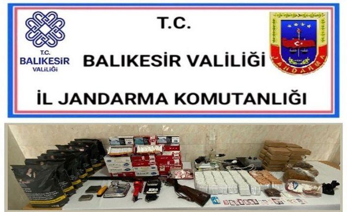 Balıkesir'de 29 şahsa gözaltı