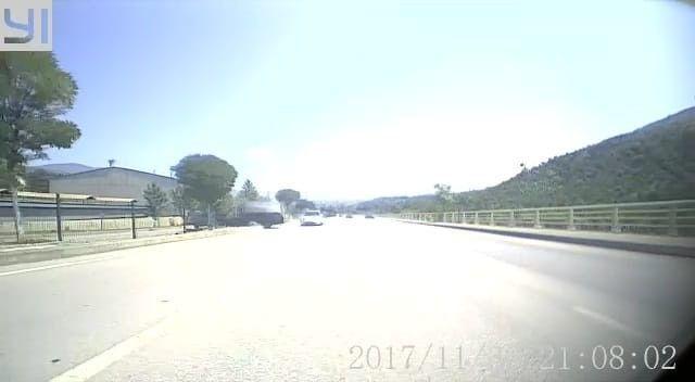 5 çocuğun yaralandığı kaza araç kamerasına yansıdı