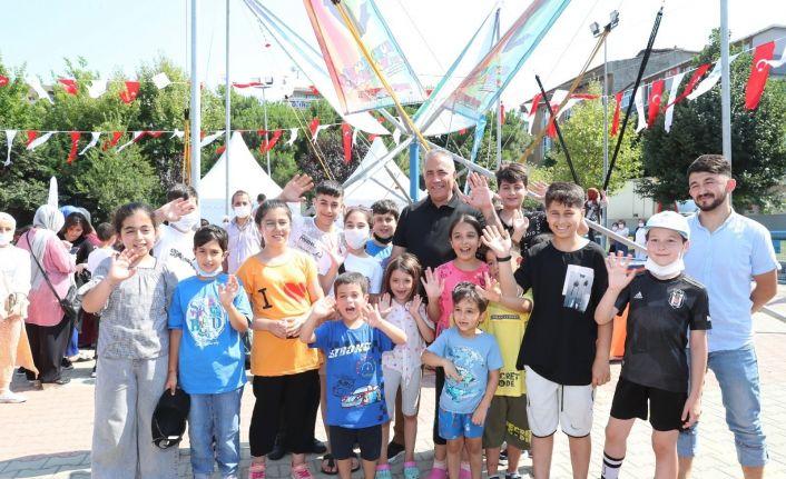 Sultangazi'de çocuklara bayram sürprizi
