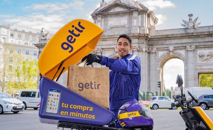 Getir'in hizmet verdiği 6'ncı ülke İspanya oldu