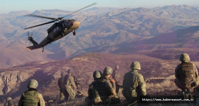 """MSB: """"Irak'ın kuzeyindeki Gara bölgesinde tespit edilen 2 PKK'lı terörist hava harekâtı ile etkisiz hâle getirilirken, Pençe-Yıldırım bölgesinde de 2 PKK'lı terörist komandolarımız tarafından etkisiz hâle getirildi."""""""