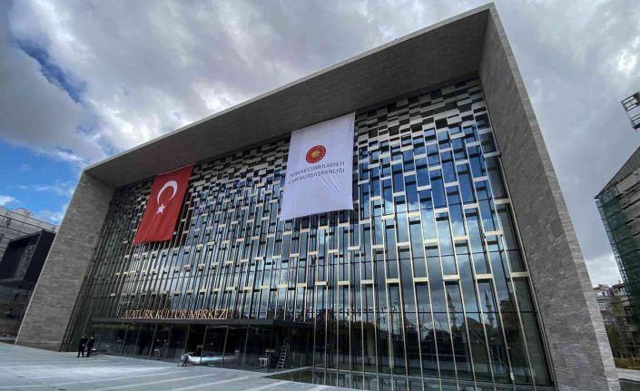 Atatürk Kültür Merkezi'nin son hali görüntülendi