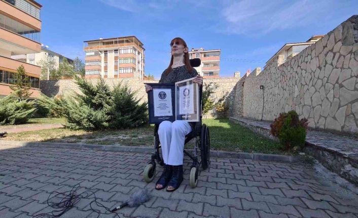 Dünyanın en uzun kadını hayallerini anlattı