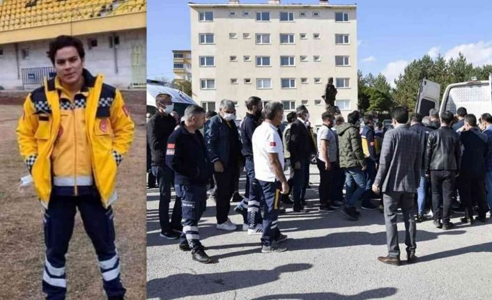 Kazada hayatını kaybeden sağlık çalışanı törenle memleketine uğurlandı
