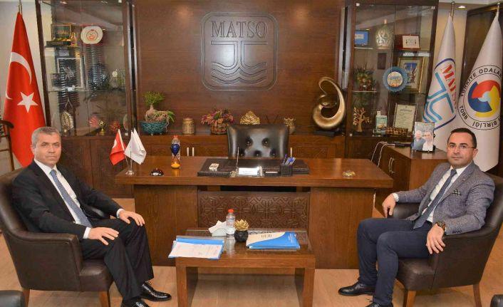 """MATSO Başkanı Güngör: """"Güçlü ve çeşitlenmiş bir kent ekonomisi için çalışıyoruz"""""""