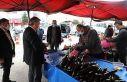 Başkan Palancıoğlu pazar yerinde korona virüs...