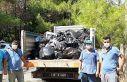 Bayramda Marmaris'te 1885 ton çöp toplandı