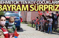 Mehmetçik'ten köy çocuklarına bayram sürprizi