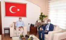 Başkan Bozdoğan ve Başkan Gültak, ortak projeler için bir araya geldi