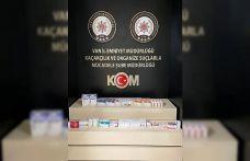 Van'da bin 62 adet tıbbi ilaç ele geçirildi