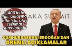 Cumhurbaşkanı Erdoğan'dan S-400 Yorumu: 'Bu İş Bitmiştir'