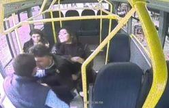 Pendik'te Minibüste yaşanan ilginç olay