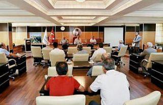 Adıyaman Belediyeler birliği toplantısı yapıldı