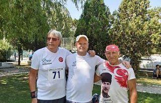 Yabancı sporcular Managat'ın gururu oldu