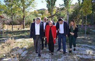 Milletvekili Nergis ve Başkan Altun KAÇEM'i ziyaret...