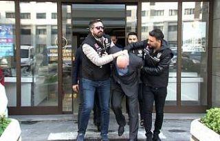 Organize suç örgütü lideri Ayvaz Korkmaz adliyeye...