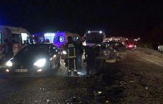 Kazada baba ve oğul hayatını kaybetti