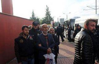 HDP Kocaeli İl başkanın da arasında bulunduğu...