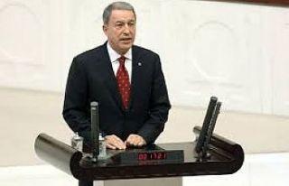 """Bakan Akar: """"NATO ülkelerinin de bize karşı sorumlulukları..."""