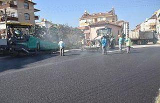 Alanya'da cadde ve sokaklar yenileniyor
