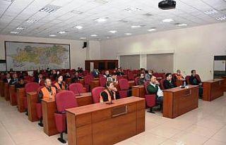 Aydın'da Vefa Sosyal Destek Grubuna hizmet içi...