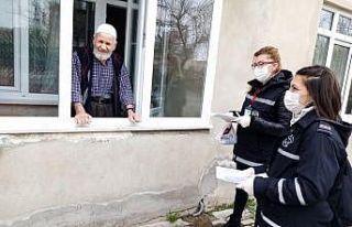 Kırklareli'de bin 400 görevli evde kalanların...