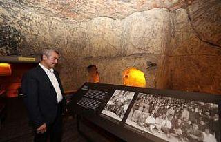 Başkan Tahmazoğlu Müzeler Haftası kutladı