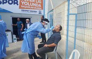 GSİM personeline 2.kez Covid-19 testi