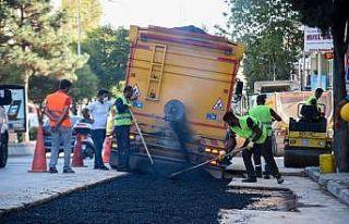 Altyapıda asfalt çalışması başladı