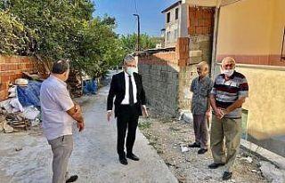 Başkan Hasan Arslan çalışmaları yerinde inceledi