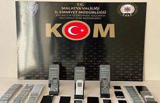 Malatya'da kaçakçılık operasyonları